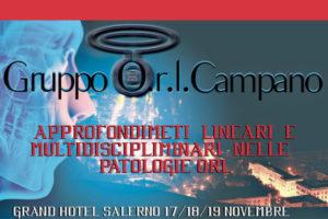 Congresso ORL Campano <br> Salerno – 17-18-19 Novembre 2016