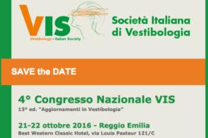 4° Congresso Nazionale VIS <br> 21-22 Ottobre 2016
